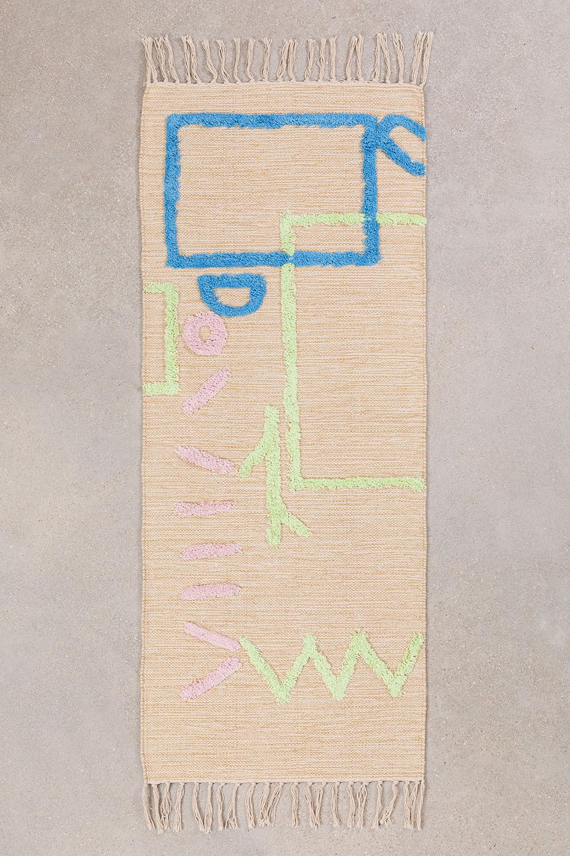 Cotton Rug (145x50 cm) Fania, gallery image 1