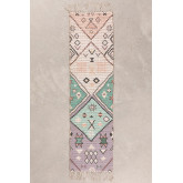 Jute & Fabric Hall Rug Nuada  (170x42,5 cm) , thumbnail image 1