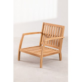 Garden Armchair in Teak Wood Confi, thumbnail image 2
