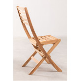 Garden  Teak Wood Foldable Chair Nicola , thumbnail image 3