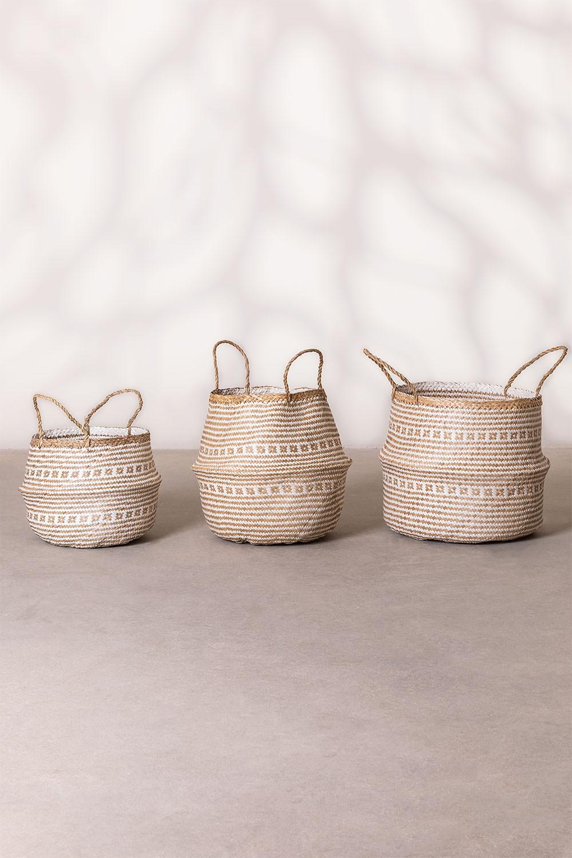 Kahs Mosaic Basket, gallery image 1