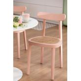 Alena Wood Dining Chair, thumbnail image 1