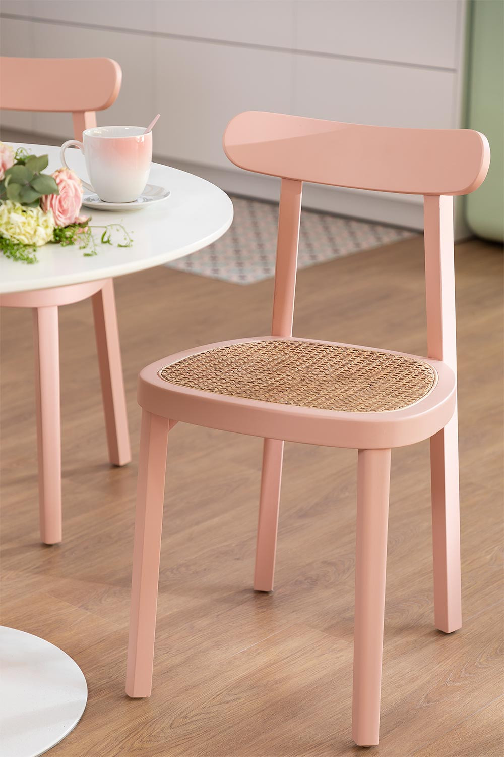 Alena Wood Dining Chair, gallery image 1