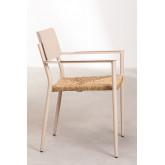 Pack 2 Amadeu Aluminum Garden Chairs, thumbnail image 4