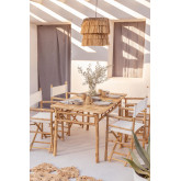Bamboo Table (150x80 cm) Marilin, thumbnail image 1