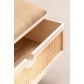 Wooden Bench with Ralik Style, thumbnail image 5