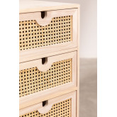 Ralik Style Wooden Chest of Drawers, thumbnail image 5