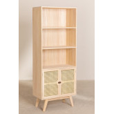 Wooden Highboard with 2 Shelves Ralik Style, thumbnail image 2