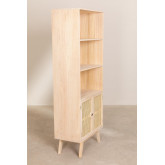 Wooden Highboard with 2 Shelves Ralik Style, thumbnail image 3