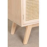 Wooden Highboard with 2 Shelves Ralik Style, thumbnail image 6