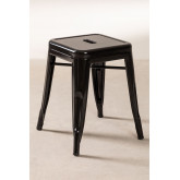 LIX Low Steel Stool, thumbnail image 2