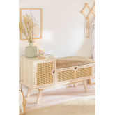 Wooden Bench with Ralik Style, thumbnail image 1