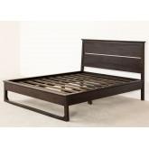 Teak Wood Bed for 160 cm Somy Mattress, thumbnail image 2