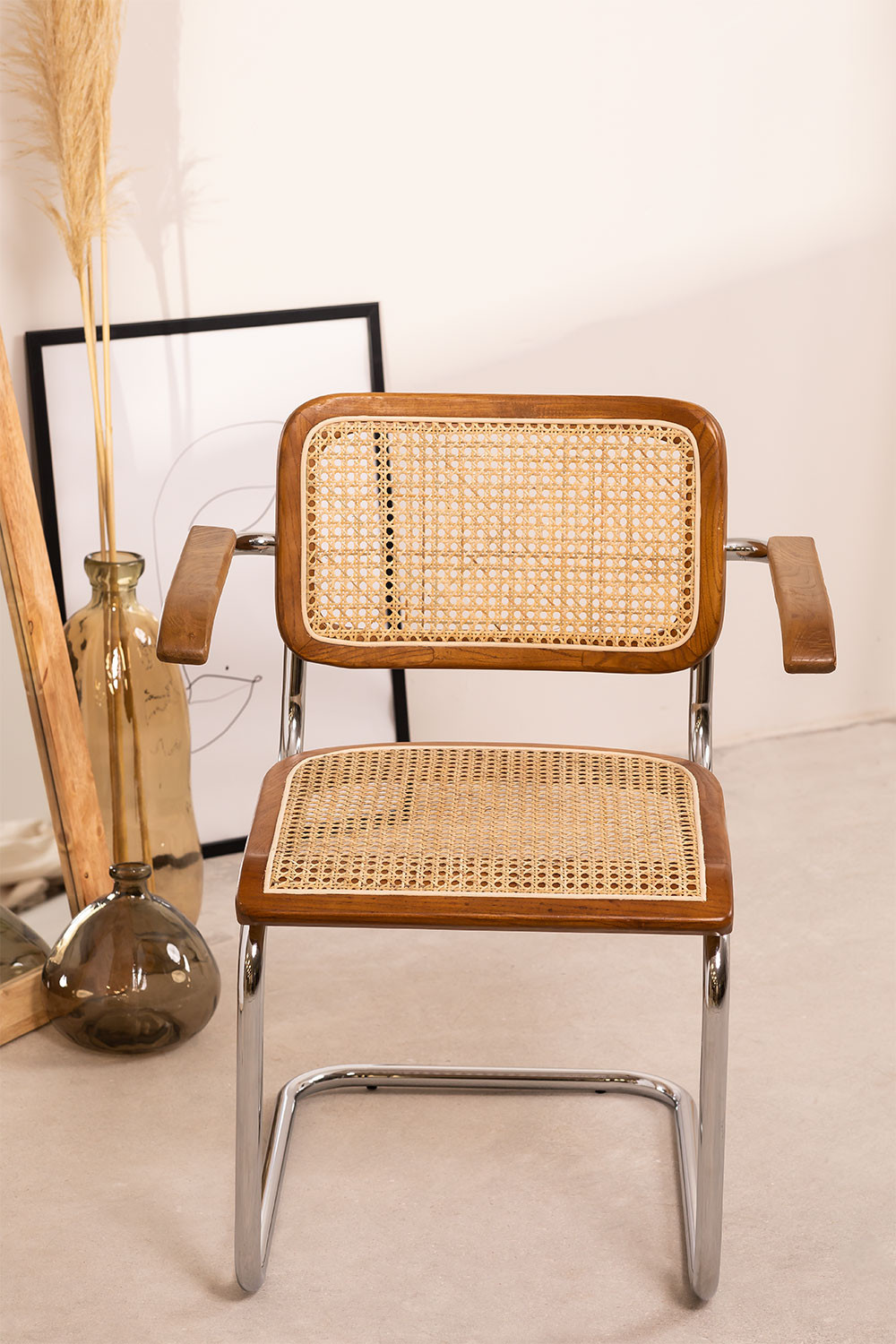 Dining Chair with Armrests Tento, gallery image 1