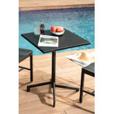 Steel Foldable & Convertible Bar Table in 2 heights Dely (60x60 cm) , thumbnail image 1