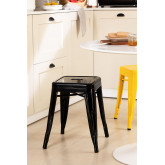 LIX Low Steel Stool, thumbnail image 1