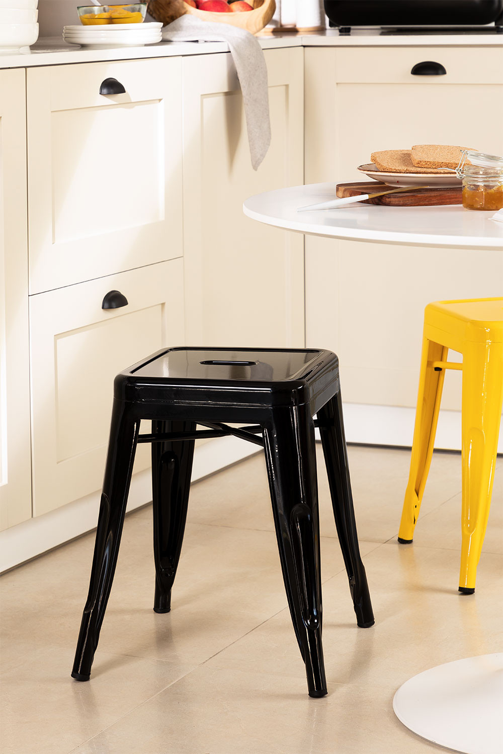 LIX Low Steel Stool, gallery image 1