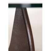 Beech Wood & Glass Coffee Table Chi, thumbnail image 6