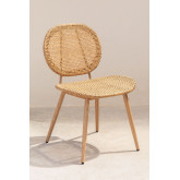 Synthetic Wicker Garden Chair Mity , thumbnail image 2