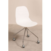 Tech Office Chair with Wheels, thumbnail image 2