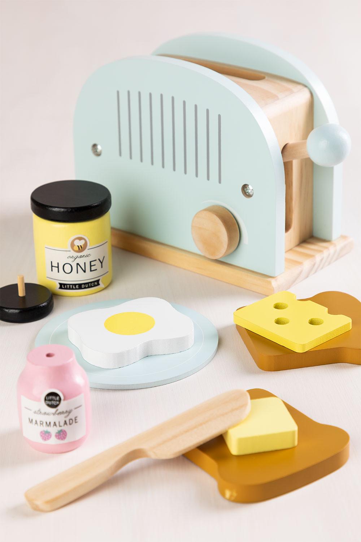 Kids Breakfast Set with Wooden Sandwich Maker Branx , gallery image 1