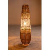 Braided Paper Floor Lamp Menak , thumbnail image 4