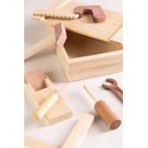 Decker Kids Wooden Tool Box, thumbnail image 2