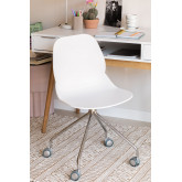 Tech Office Chair with Wheels, thumbnail image 1