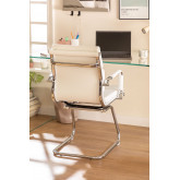 Mina Office chair with armrests, thumbnail image 2