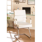 Mina Office chair with armrests, thumbnail image 1