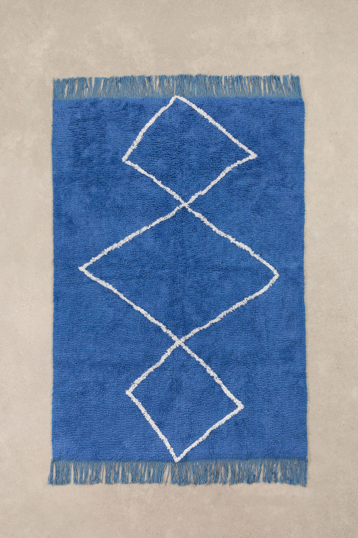 Cotton Rug (204x125 cm) Vlü, gallery image 1