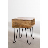 Tital Recycled Wood Nightstand, thumbnail image 3