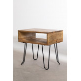 Tital Recycled Wood Nightstand, thumbnail image 4
