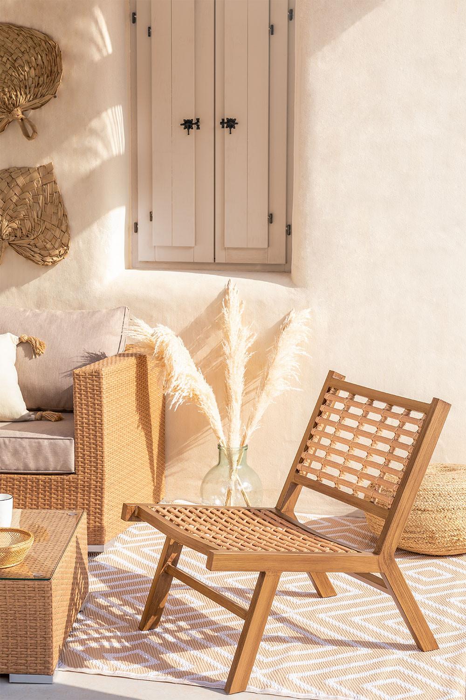 Ayat Garden Chair in Synthetic Wicker , gallery image 1