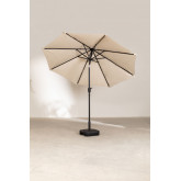 Parasol with Light in Fabric and Steel (Ø257 cm) Weky, thumbnail image 4