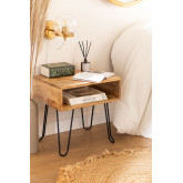 Tital Recycled Wood Nightstand, thumbnail image 1