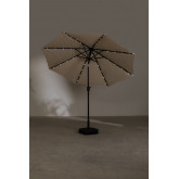 Parasol with Light in Fabric and Steel (Ø257 cm) Weky, thumbnail image 5
