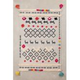 Cotton Rug (208x121,5cm) Rehn, thumbnail image 1