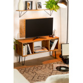 Recycled Wooden TV Cabinet Ferd, thumbnail image 1