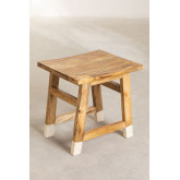 Low Wooden Stool Pid , thumbnail image 2