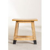 Low Wooden Stool Pid , thumbnail image 4