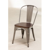 Brushed Wooden LIX Chair, thumbnail image 2