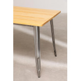 LIX Brushed Wood Table (160x80 cm), thumbnail image 4