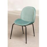 PACK of 4 Velvet Pary Chairs, thumbnail image 2