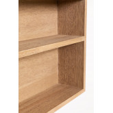 Quhe Rectangular Wall Mirror with Shelves in MDF (96x46 cm), thumbnail image 5
