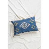Uet Rectangular Cotton Cushion (40x60 cm) , thumbnail image 1
