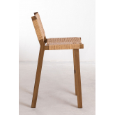 High Stool in Synthetic Wicker Ori, thumbnail image 3