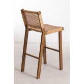 High Stool in Synthetic Wicker Ori, thumbnail image 4