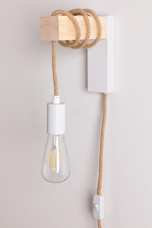 Tina Natural Wall Lamp, gallery image 1