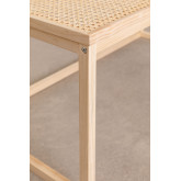 Center Table in Rattan and Riolut Wood, thumbnail image 5